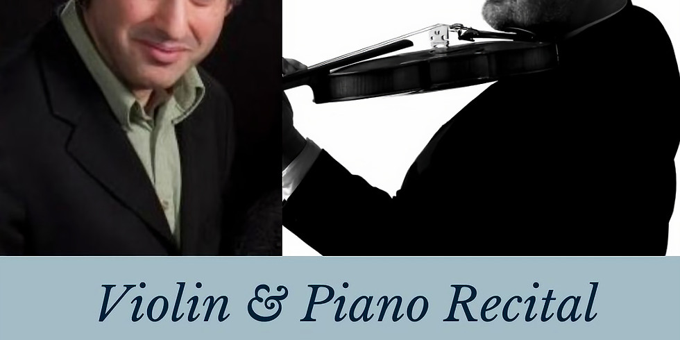 TBAM | Violin and Piano Recital