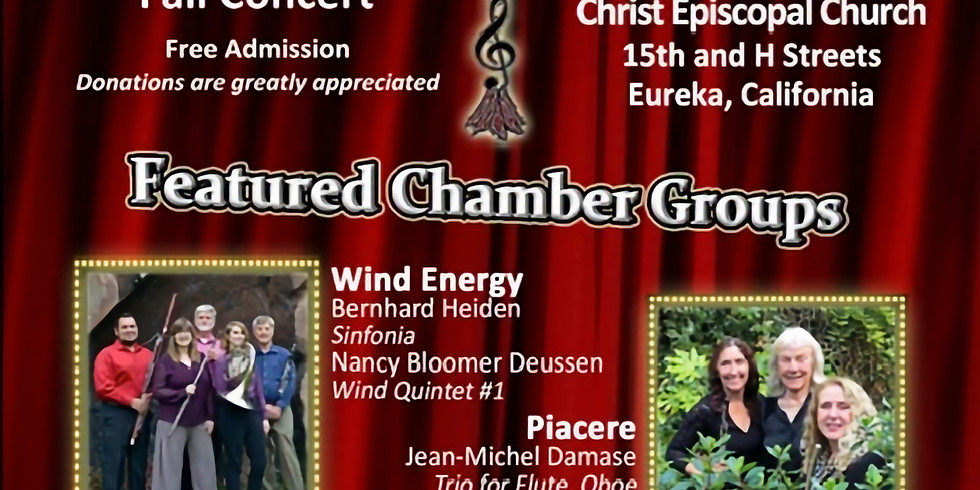 Chamber Players of the Redwoods: Fall Concert