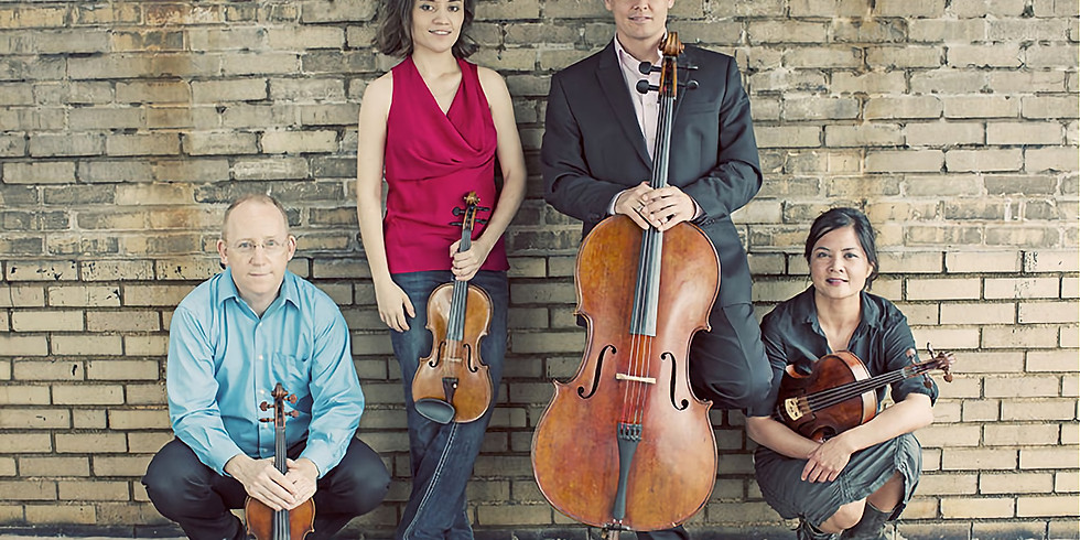 Arianna String Quartet, with Tian Ying | Eureka Chamber Series