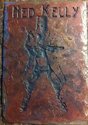 Ned Kelly Etced slate brick paver