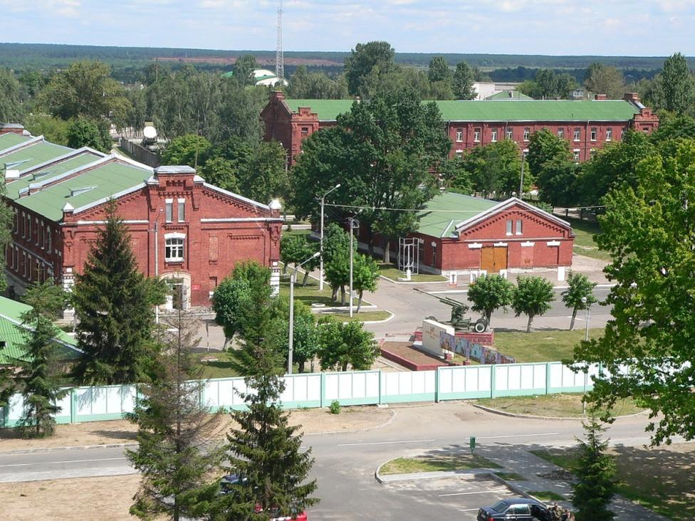 Бывшая казарма Кутаисского полка