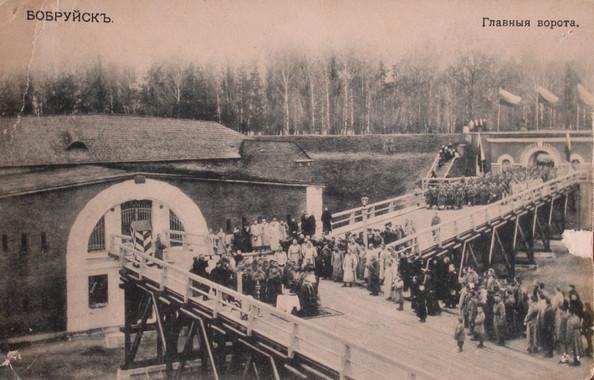 Минские ворота крепости
