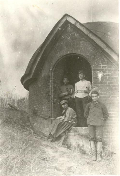 У дозорной башни горжевого редюита 1920 г.