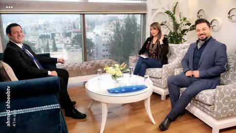 مقابلة مع قناة anb