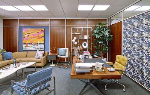 5 office designs in TV/Film that portray realistic working environments and trends.