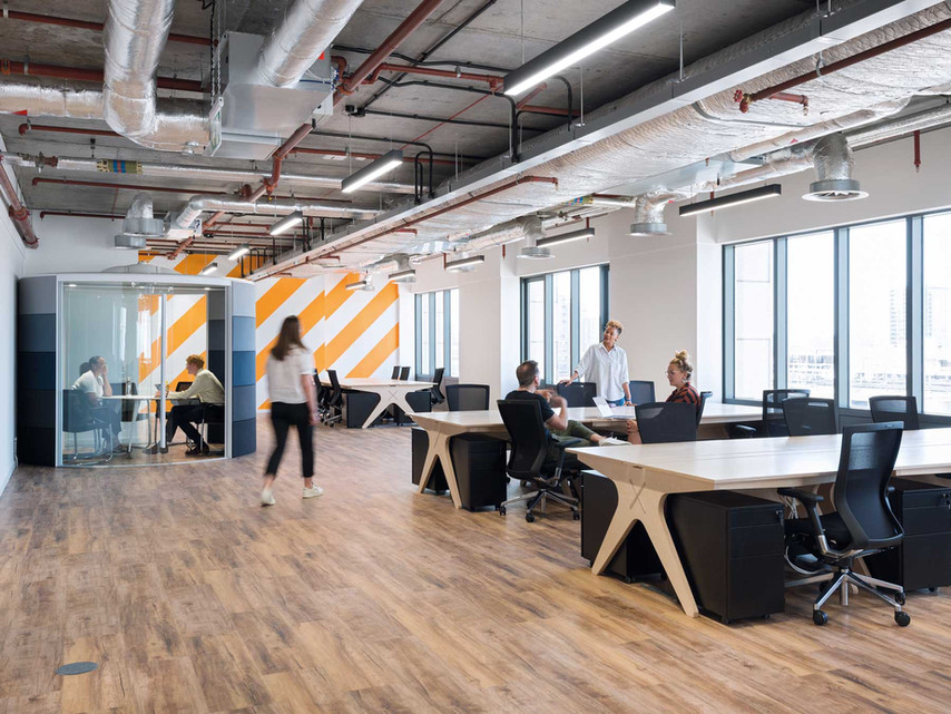 Variety in the workplace: A shopping list of design ideas and the benefits.