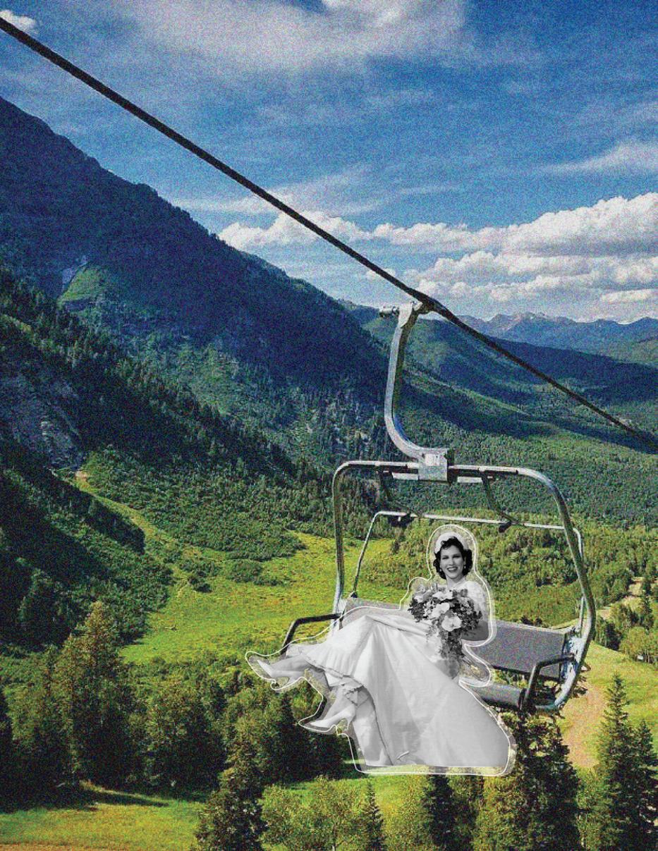 Root Magazine: Destination Wedding Collage