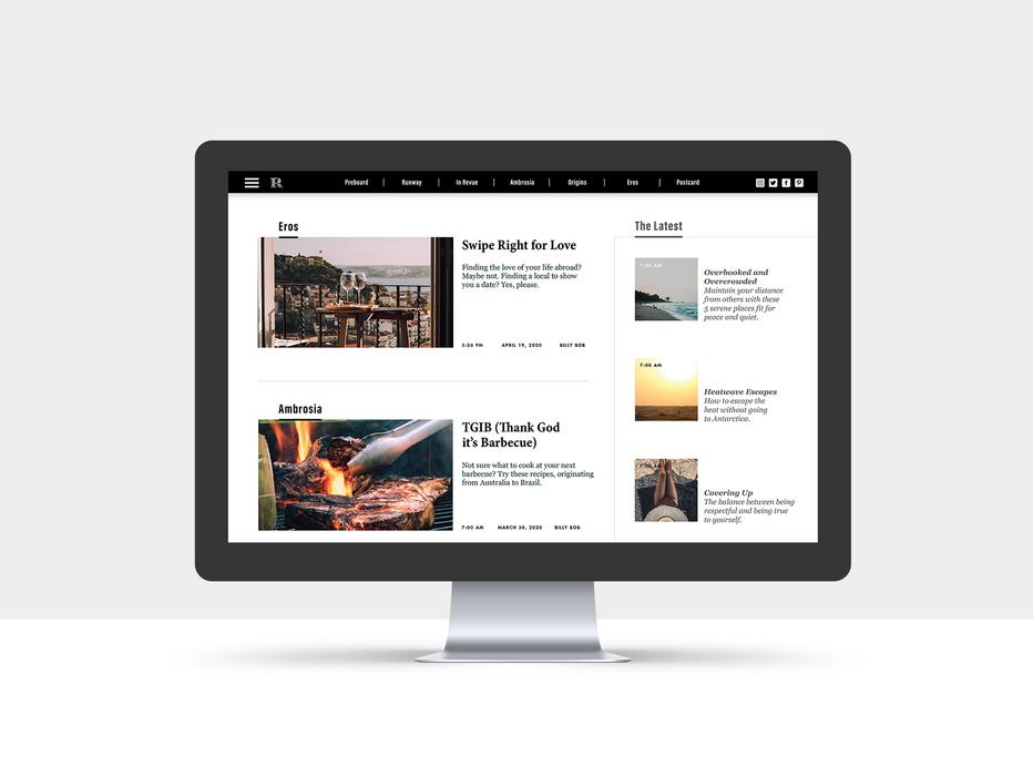 Root Magazine: Homepage