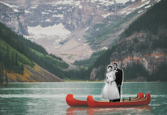 Root Magazine: Destination Wedding Collage