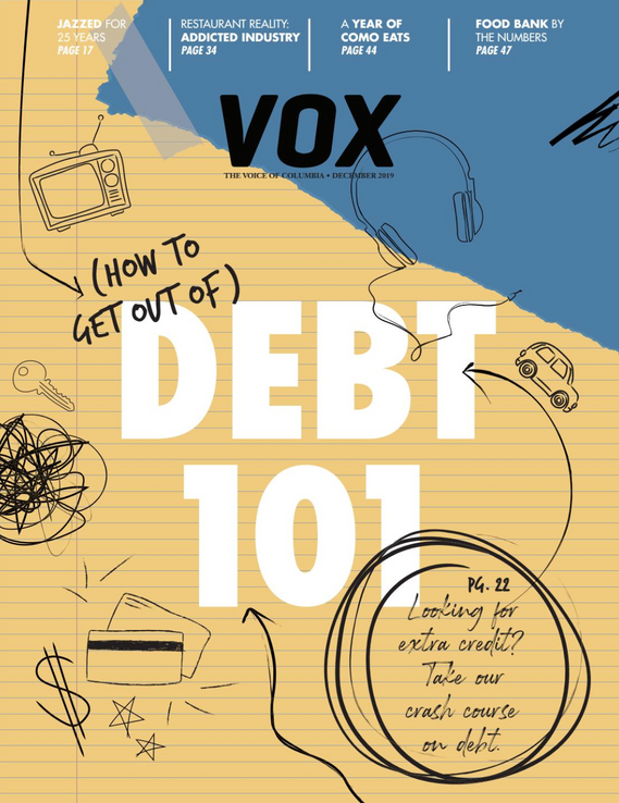 Vox Magazine Debt Feature