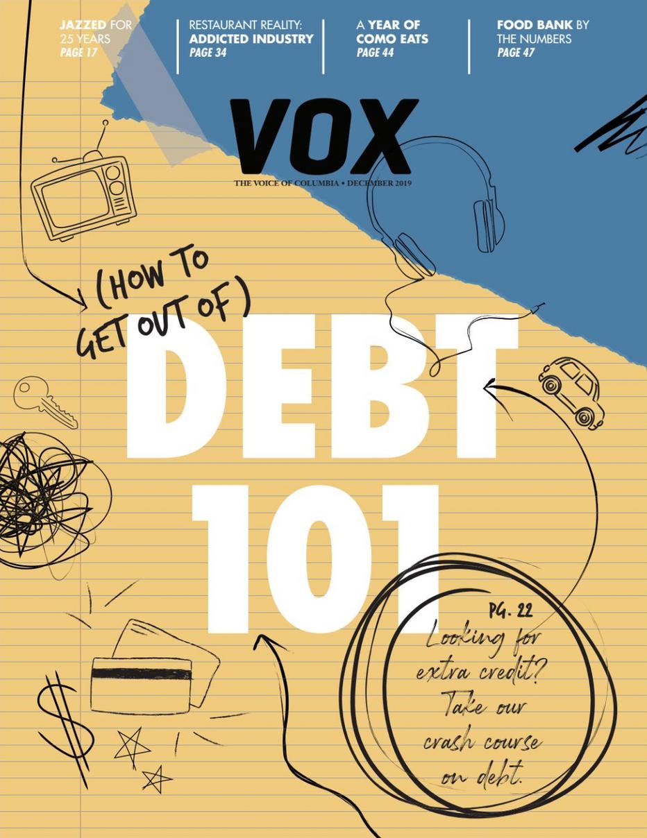 Vox Magazine Debt Feature