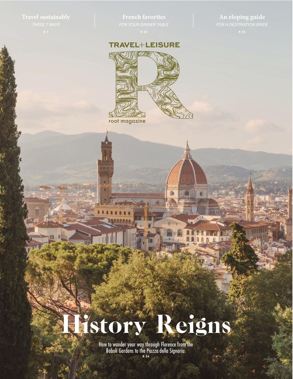 Root Magazine Cover Logo