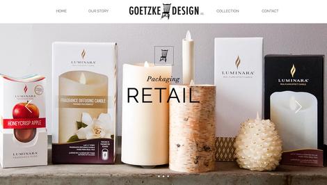 Goetzke Design Website Redesign