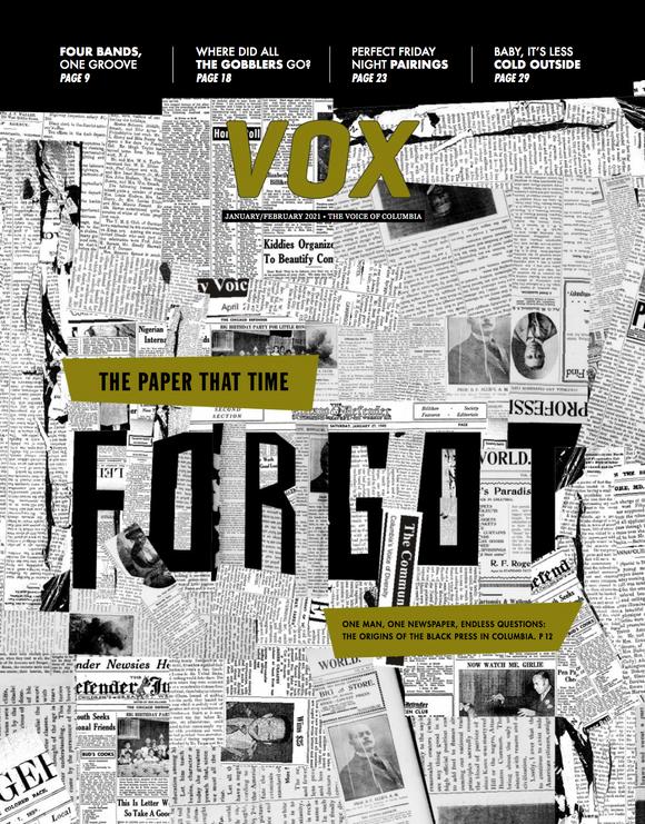Vox Magazine Jan/Feb 2020 Cover