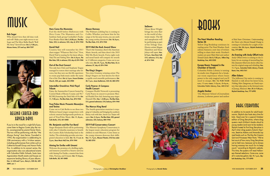 Fall Arts Guide Feature