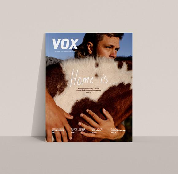 Vox Magazine December 2020 Cover
