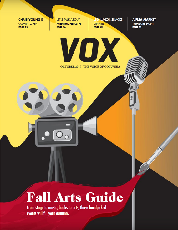 Vox Magazine Fall Arts Guide