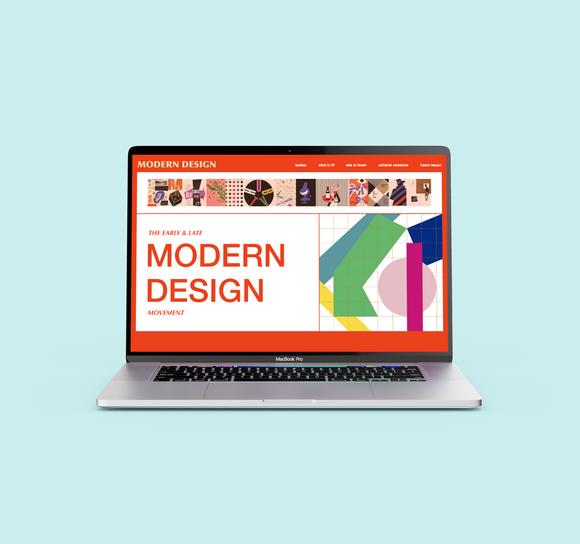 Modernism Website