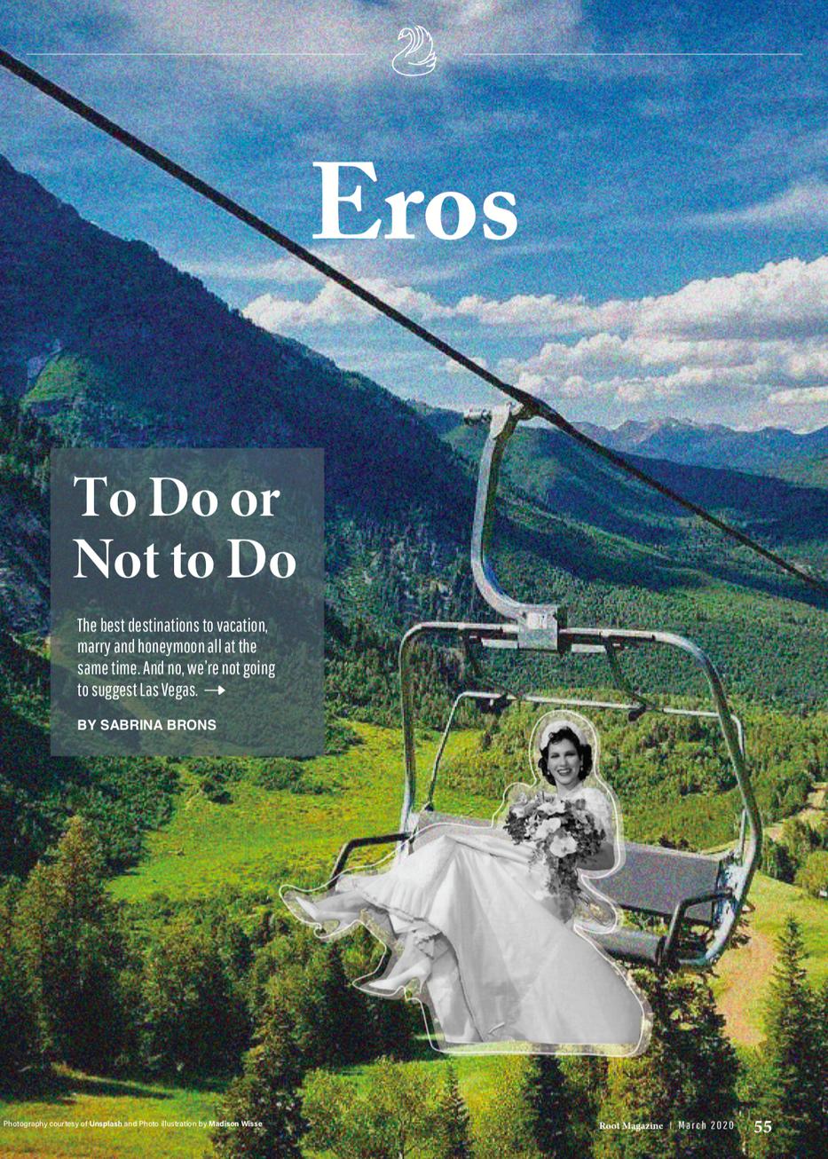 Root Magazine Eros Department Opener