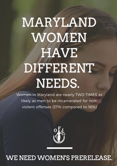 Maryland women have different needs.