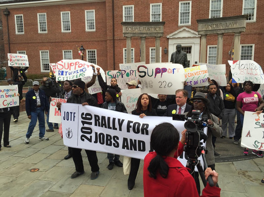 Rally for Jobs and Justice