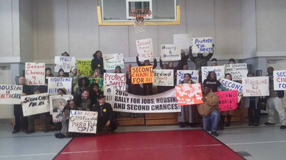 Rally for Jobs, Housing, and Second Chances
