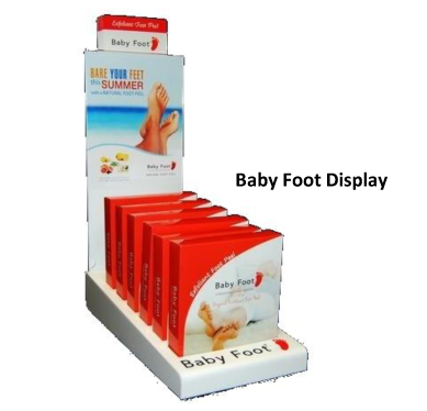 Baby Foot retail counter display