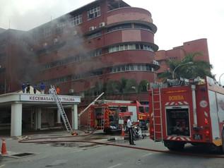 MAPIM Kesal Terhadap Tragedi Kebakaran Hospital Sultanah Aminah Johor