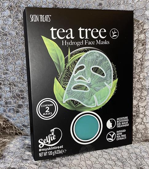 6pk Tea Tree Collagen Hydrogel Sheet Masks