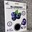Thumbnail: 6pk Blueberry Collagen Hydrogel Sheet Masks