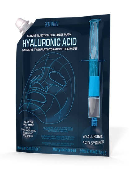 Hyaluronic Acid Injection Silk Sheet Mask 3pk