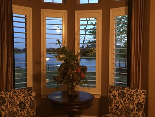 To Drape, Or Not Tp Drape - Accenuating Your Plantation Shutters