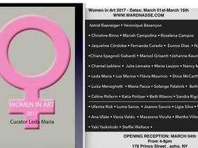 Women in Art 2017, Ward Nasse Gallery, New York