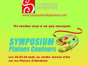 Symposium Plaines Couleurs 2014
