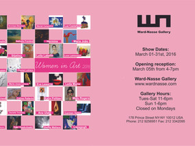 Women in Art 2016 Ward Nasse Gallery, New York