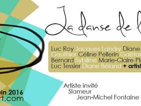 Exposition '' La danse de la matière, Galerie mp tresart