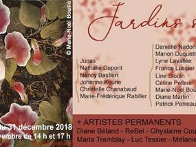 Exposition '' Jardins secrets '' Exhibition