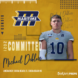 Committed Michael Deblois