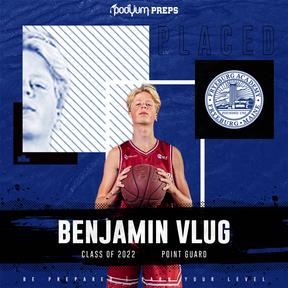 Benjamin Vlug Podyum Preps Signed Athlet