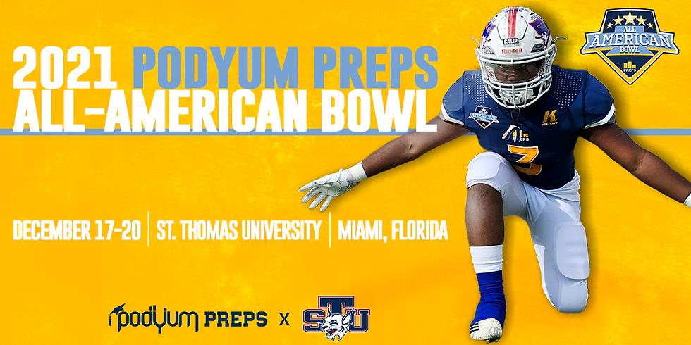 2021 Podyum Preps All-American Bowl