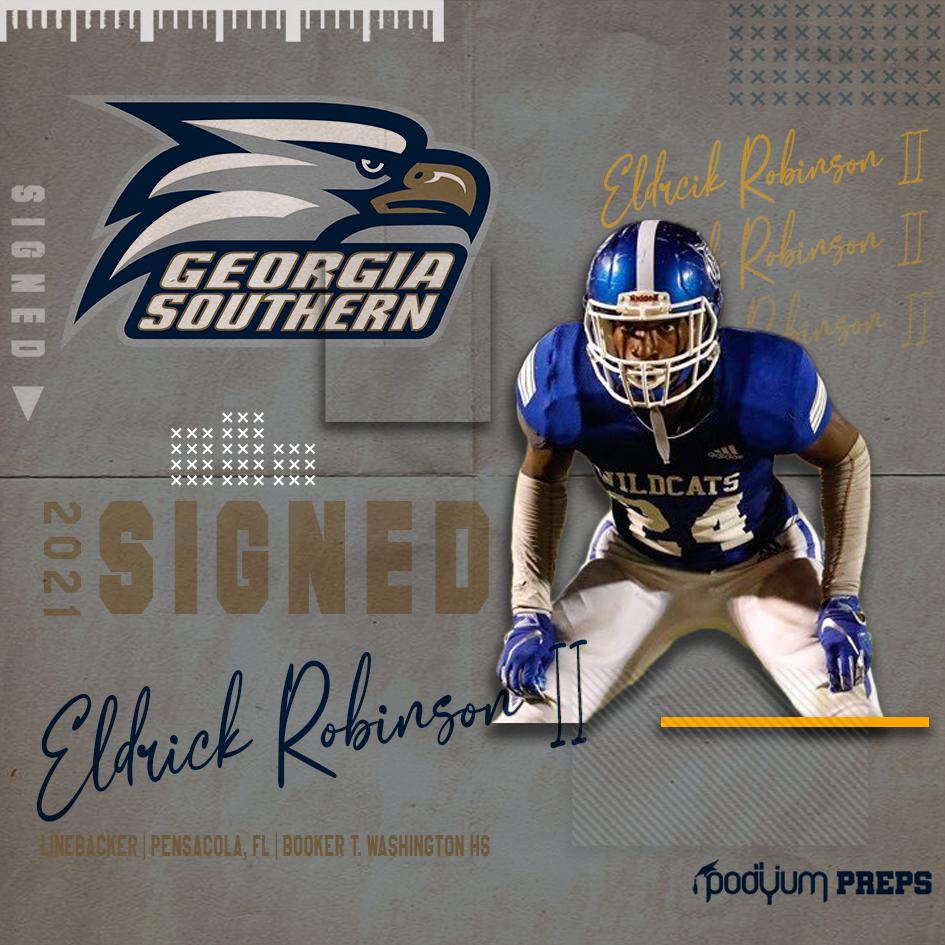Signed Eldrick Robinson II