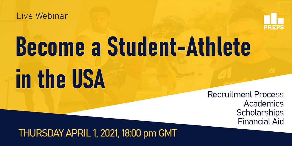Webinar: Become a Student-Athlete in the USA
