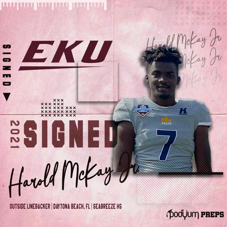 Signed Harold McKay Jr