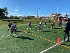 Football Position Drills