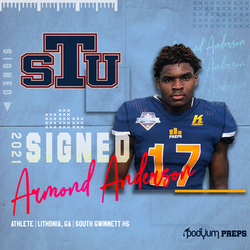 Signed Armond Anderson