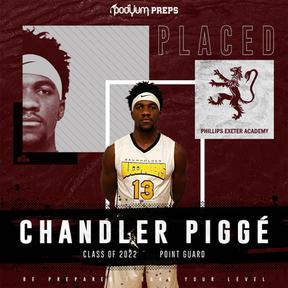 Chandler Pigge Podyum Preps Signed Athle