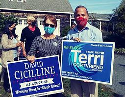 Terri and David - masks.jpg