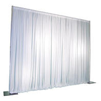 One Panel Ivory Pipe/Drape for Backdrop