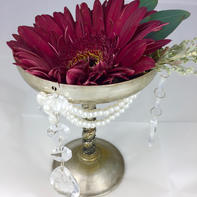 Vintage Style Tabletop Shallow Goblet