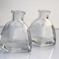 Small Clear Flower Bud Vases